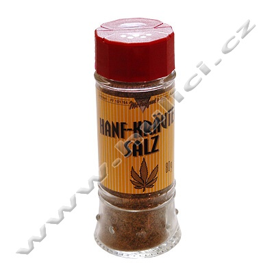 Konopná sůl Hemp Herbal salt 80 g