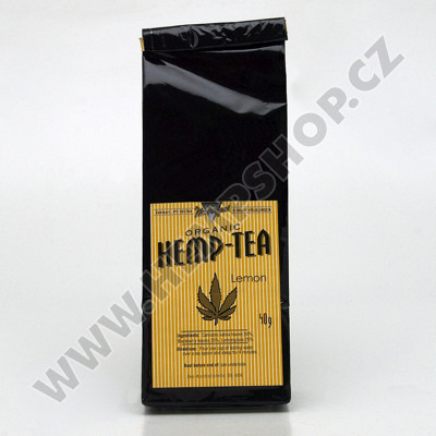Konopný čaj Hemp Tea Lemon 40g BIO