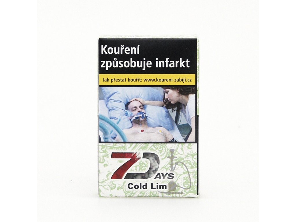 Tabák 7 Days Cold Lim 50 g