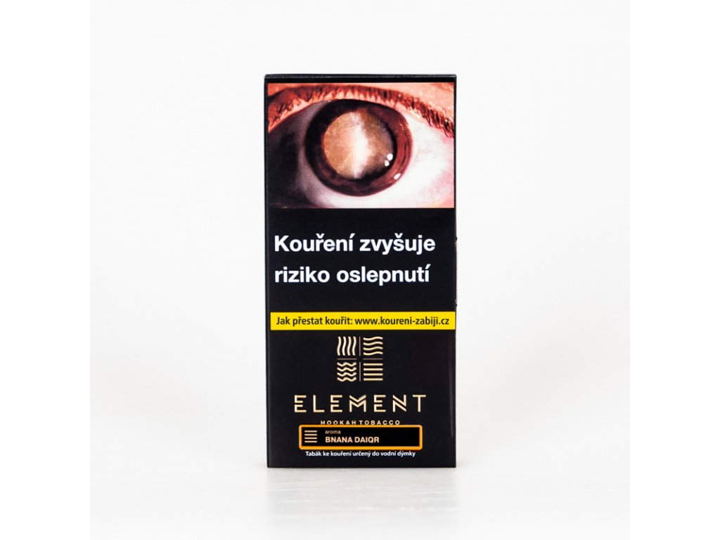 Tabák Element Earth Bnana Daiqr 100 g