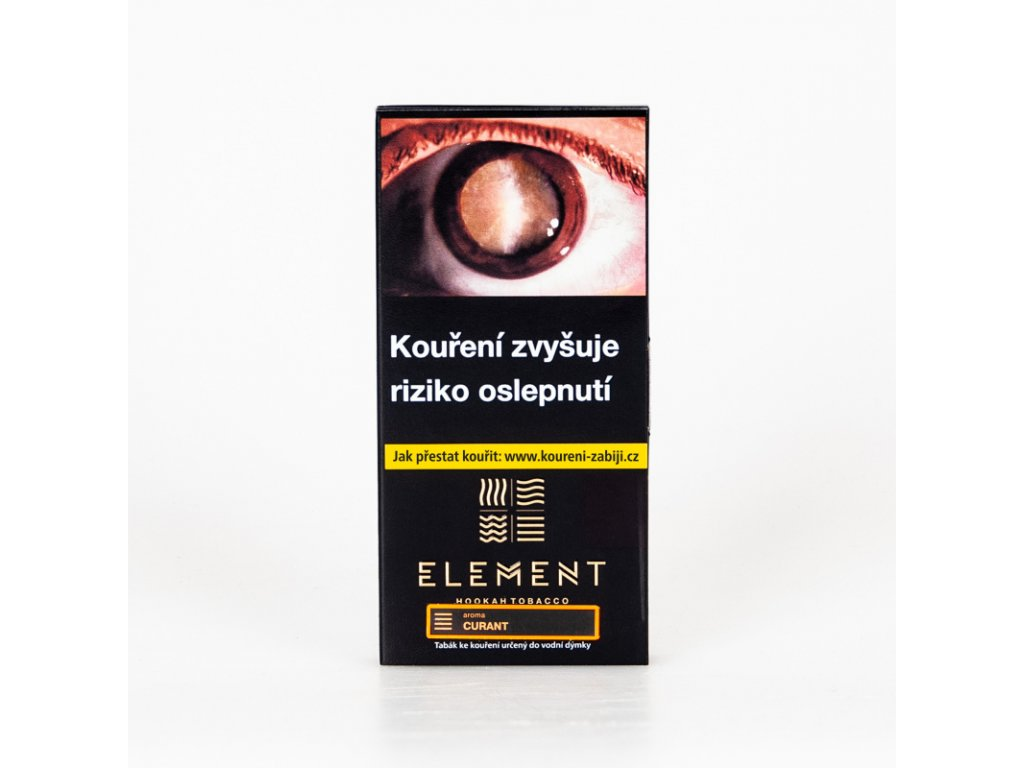 Tabák Element Earth Curant 40 g